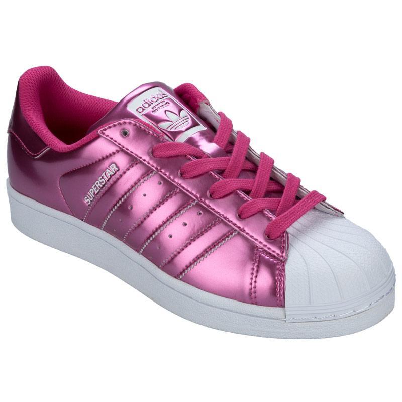 Boty Adidas Originals Womens Superstar Trainers Pink, Velikost: UK6 (euro 39)