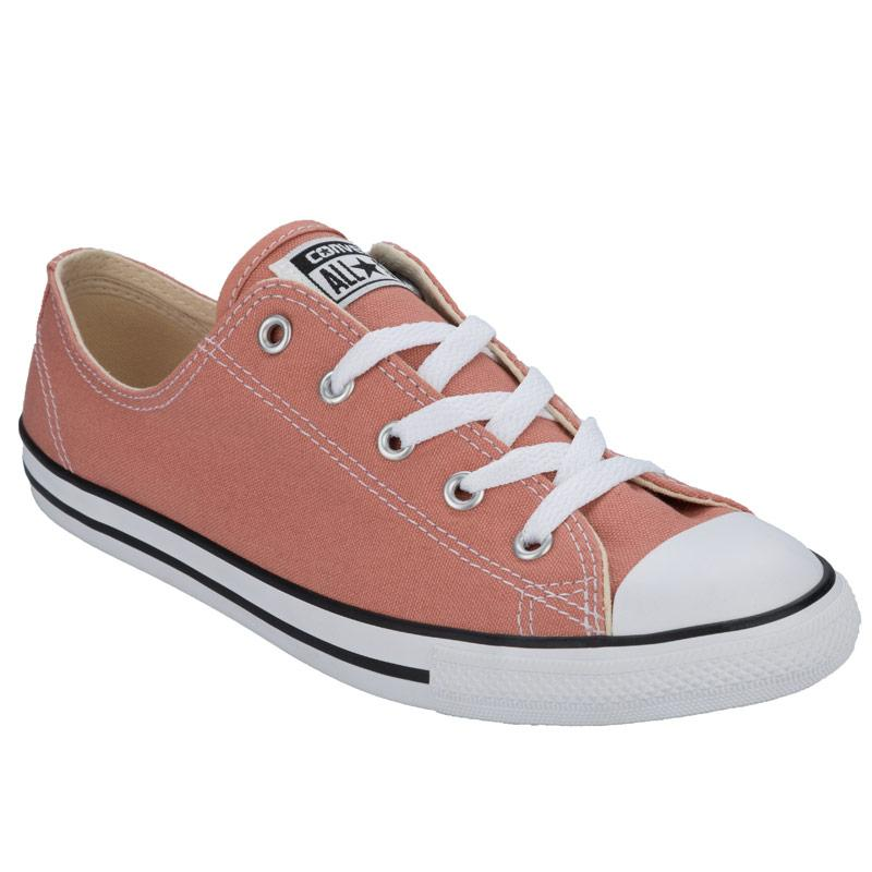 Converse Womens CT AS Dainty Ox Trainers Pink, Velikost: UK4 (euro 37)