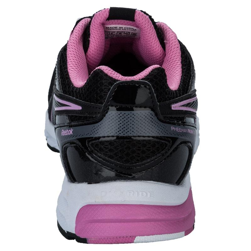 Boty Reebok Womens Pheehan Run 3.0 Running Shoes black pink, Velikost: UK8 (euro 42)
