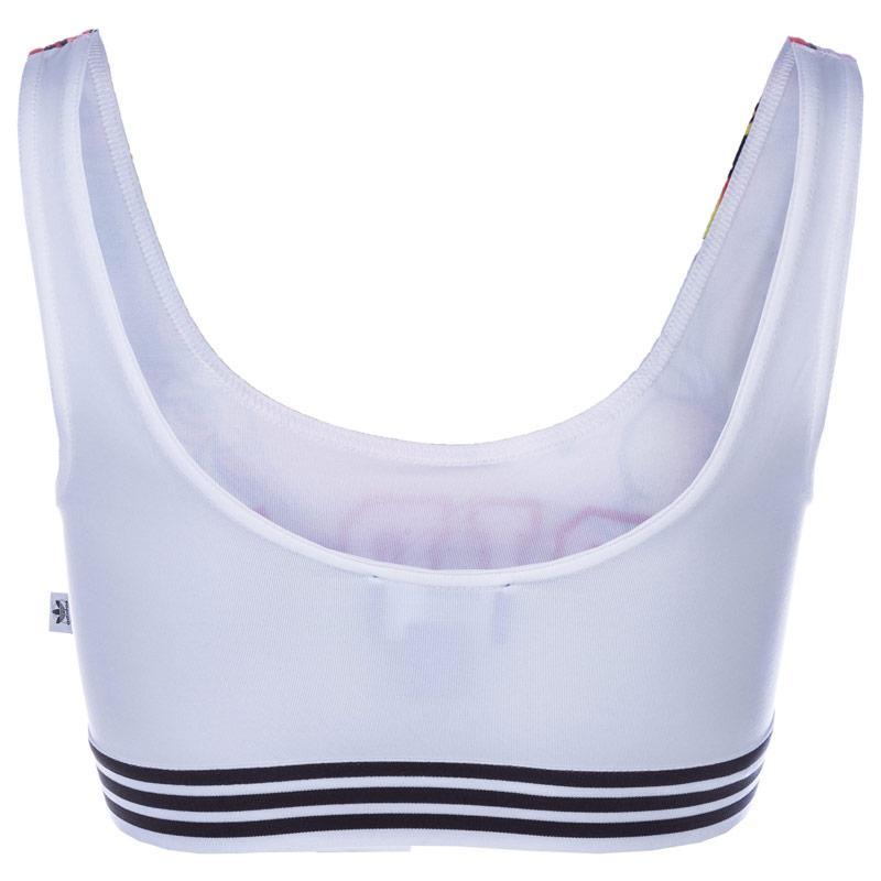 Adidas Originals Womens Rita Ora Dragon Bra Top White, Velikost: 12 (M)