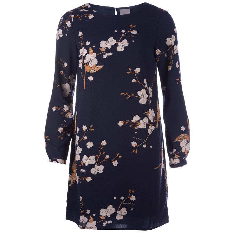 Šaty Vero Moda Womens Gabby Dress Indigo