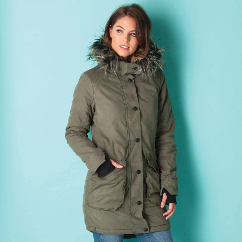 Bunda Bench Womens Wolfish II Jacket Black, Velikost: 12 (M)