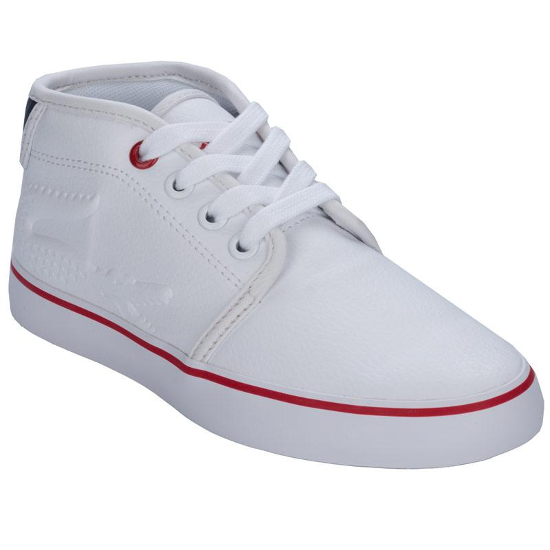 Boty Lacoste Children Boys Ampthill Trainers White