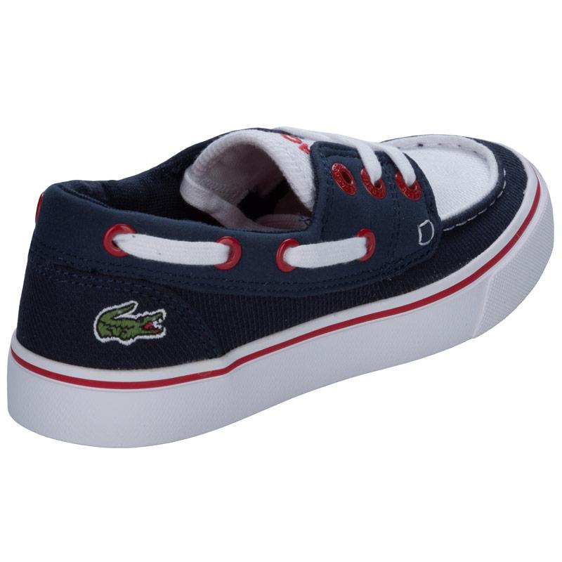 Boty Lacoste Children Boys Keel 2 Trainers Navy