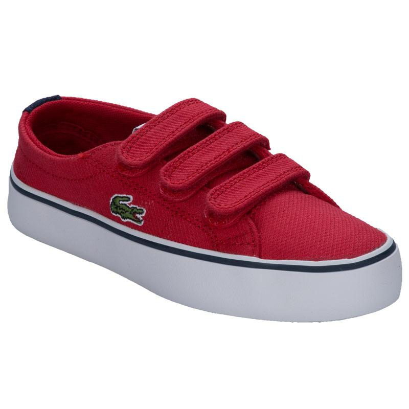 Boty Lacoste Children Boys Marcel Chunky Trainers Red