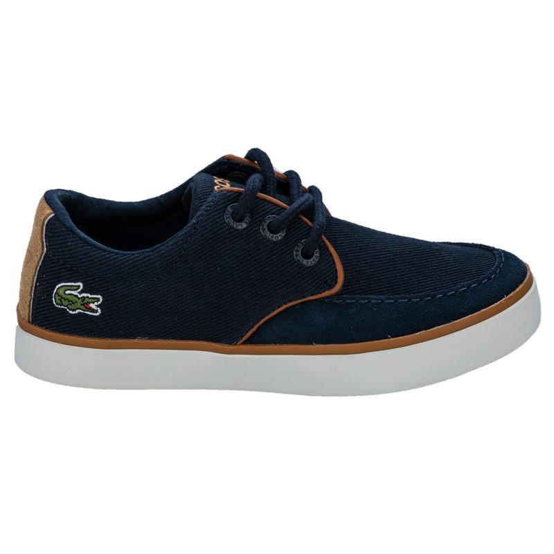 Boty Lacoste Children Boys Severin Trainers Tan