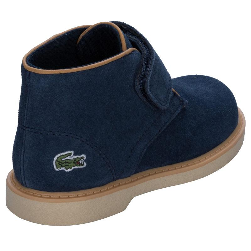 Lacoste Infant Boys Sherbrooke Boots Navy
