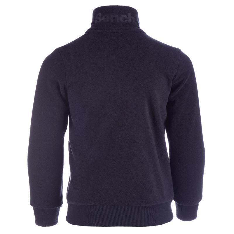 Mikina Bench Junior Boys Emboss Sweatshirt Blue