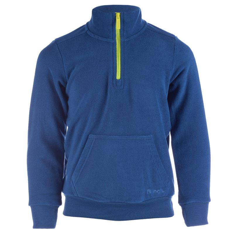 Mikina Bench Junior Boys Emboss Sweatshirt Blue