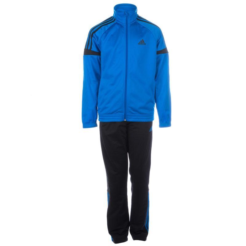 Tepláky Adidas Junior Boys Tiberio Tracksuit Blue, Velikost: 15-16 let