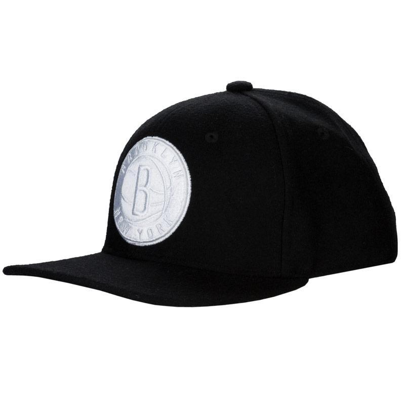 Adidas Originals Mens NBA Nets Cap Black