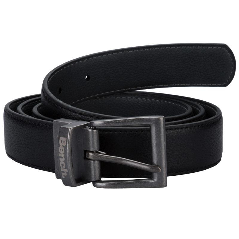 Bench Mens Wrangle Reversible Belt Black