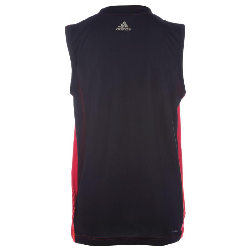 Tričko Adidas Junior Boys Messi Icon Vest Red, Velikost: 15-16 let