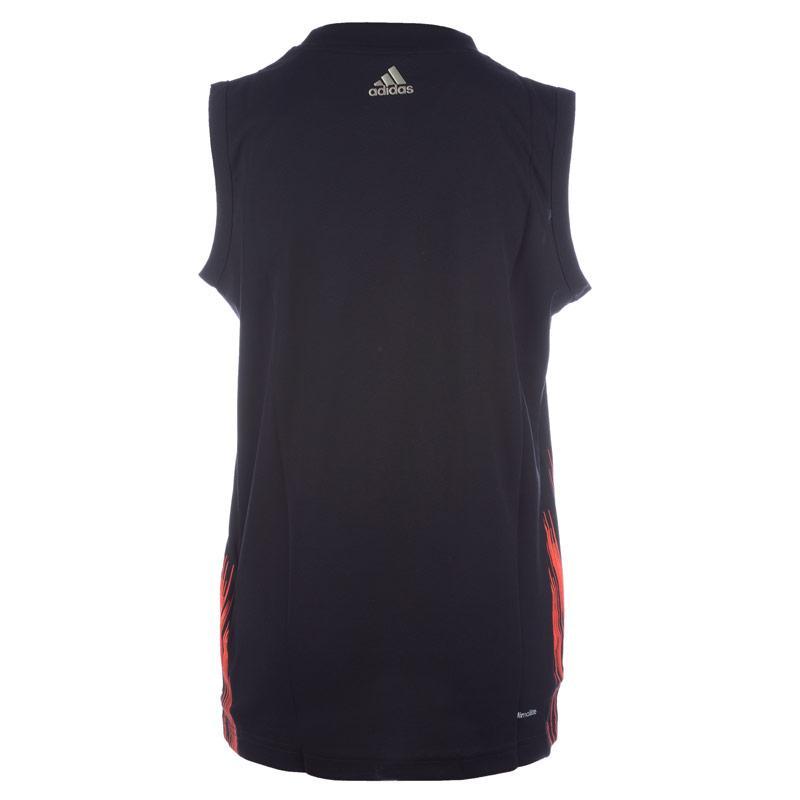 Tričko Adidas Junior Boys Messi Icon Vest Black, Velikost: 9-10 let (MB)
