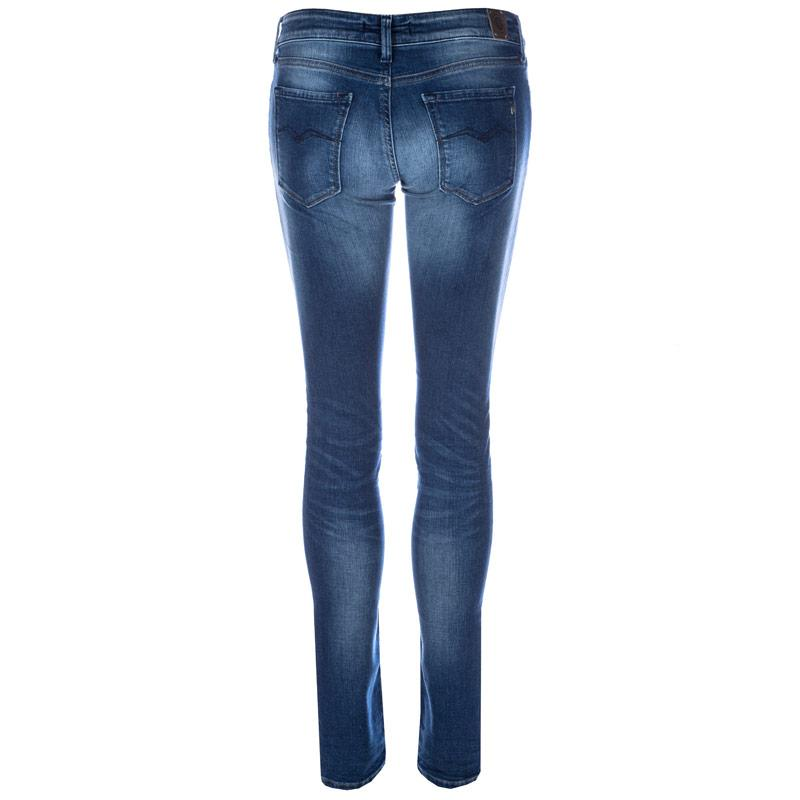 Replay Womens Luz Skinny Jeans Blue