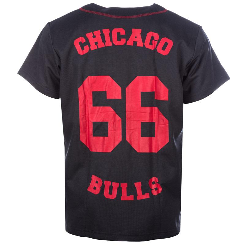 Košile Adidas Originals Mens Chicago Bulls Shirt Charcoal, Velikost: XL