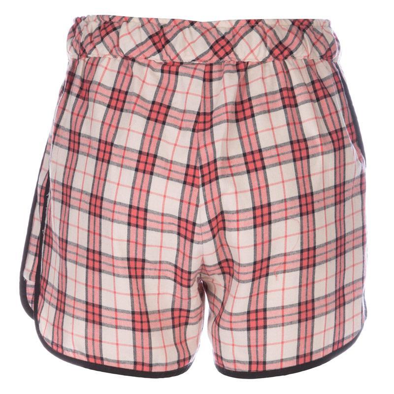 Pyžama Vero Moda Womens Chekka Shorts Cream