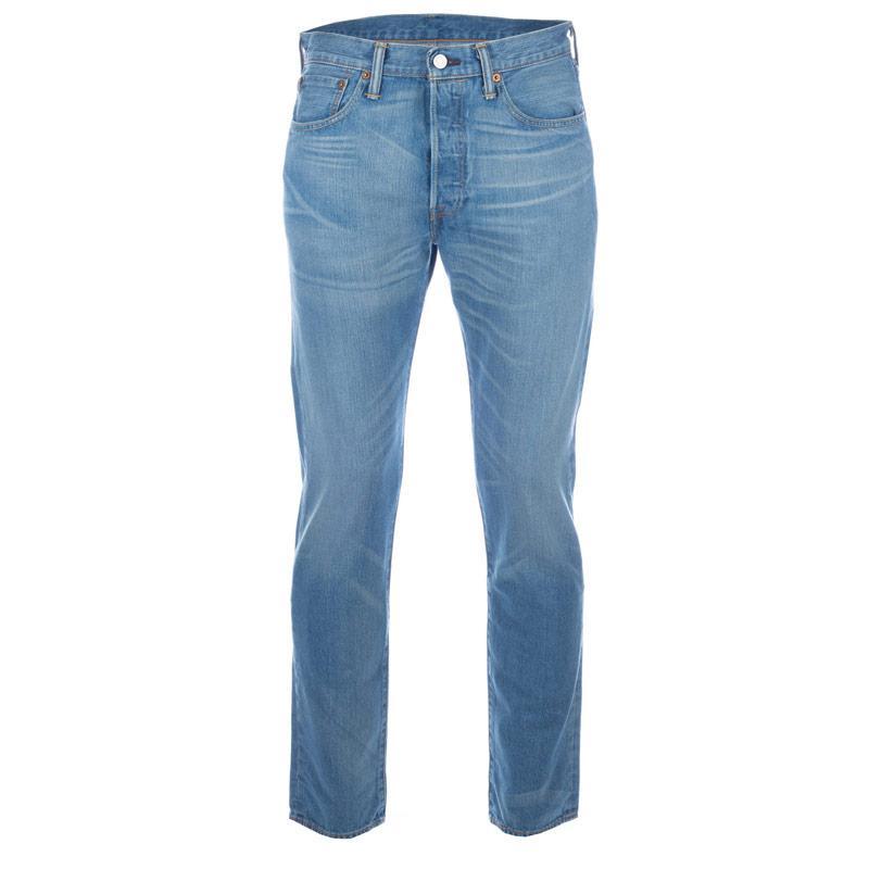 Levis Mens 501 Original Fit Jeans Blue, Velikost: W32 R