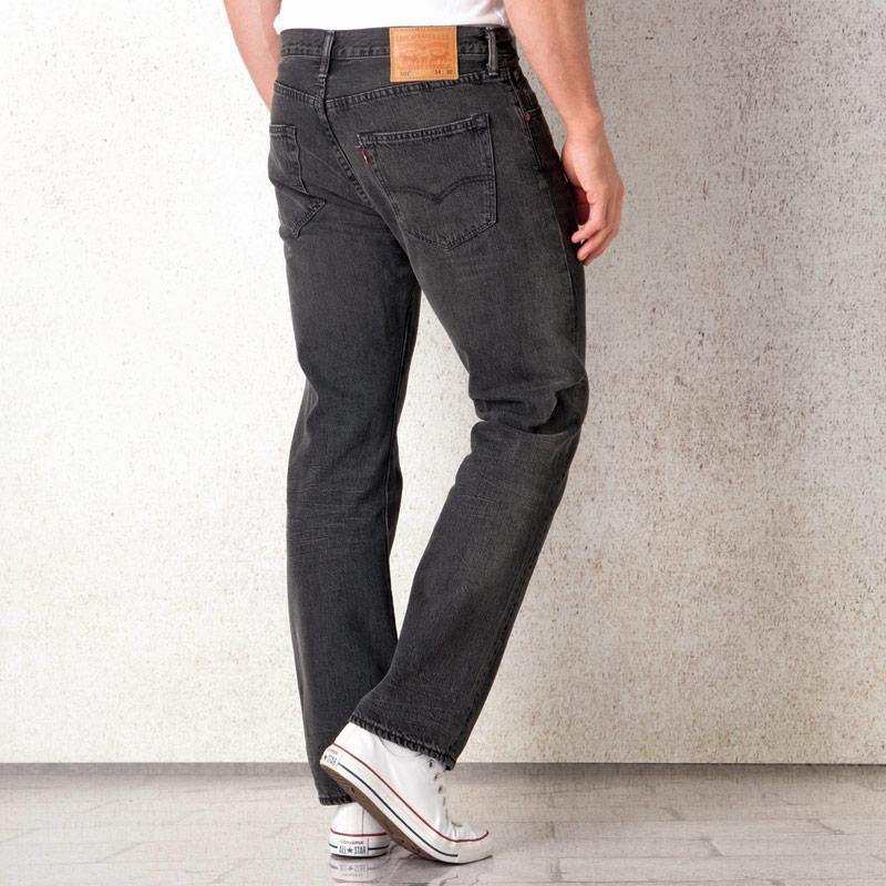 Levis Mens 501 Original Fit Jeans Indigo, Velikost: W38 L