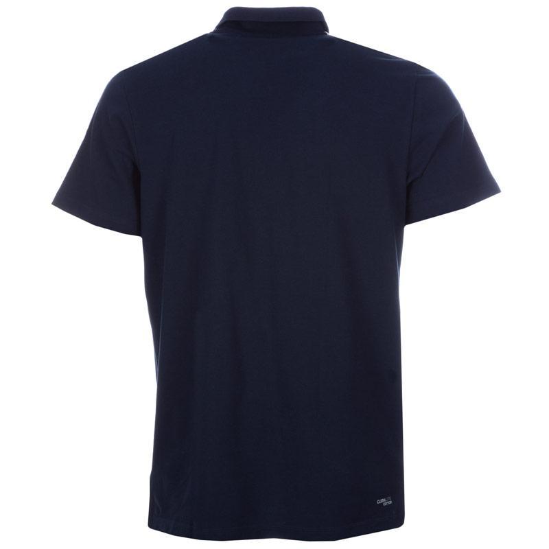 Adidas Mens Essentials 3S Polo Shirt Grey Marl, Velikost: S