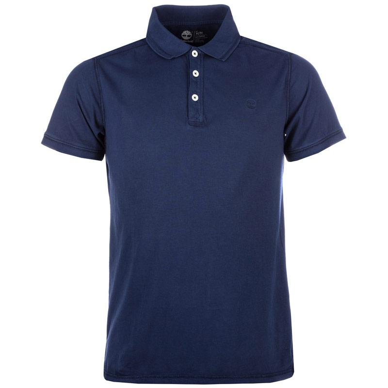 Timberland Mens Millers River Polo Shirt Navy