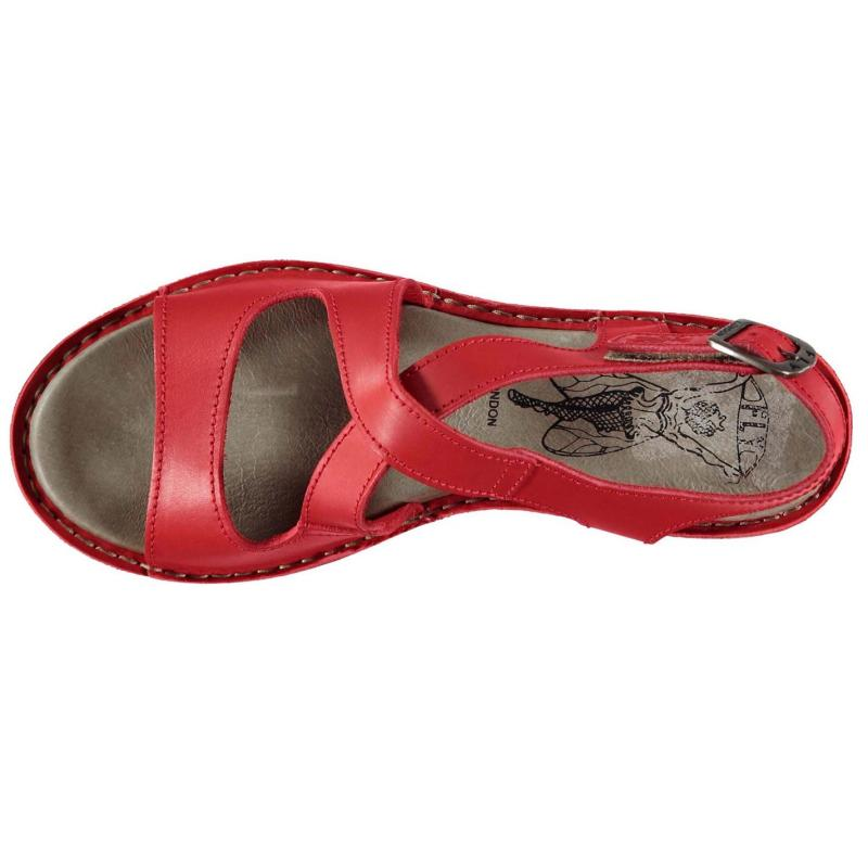 Fly London Kimberly Sandals Scarlet, Velikost: UK6 (euro 39)