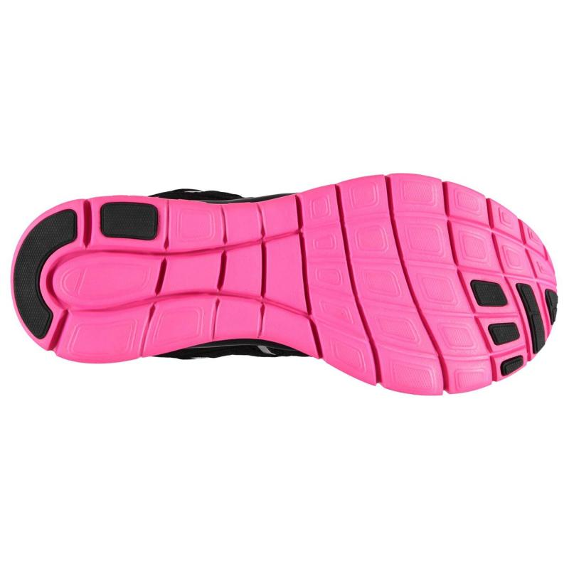 Karrimor Duma Junior Girls Running Shoes Blue/Pink