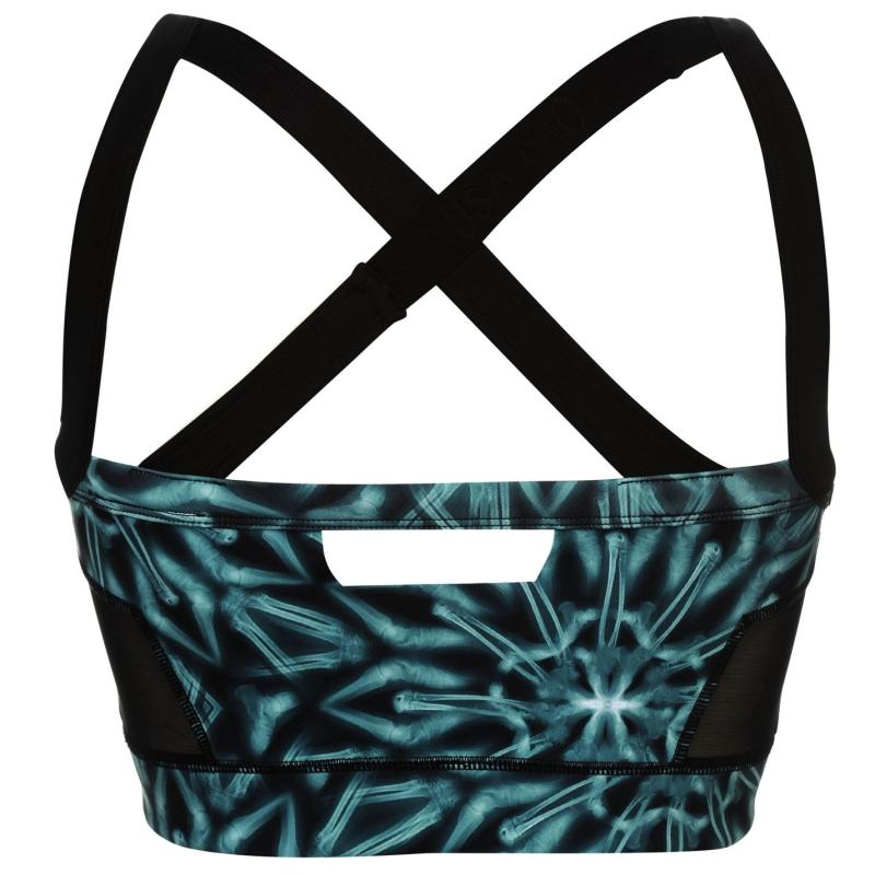 USA Pro Long Length Training Crop Top Ladies X-Ray, Velikost: 8 (XS)