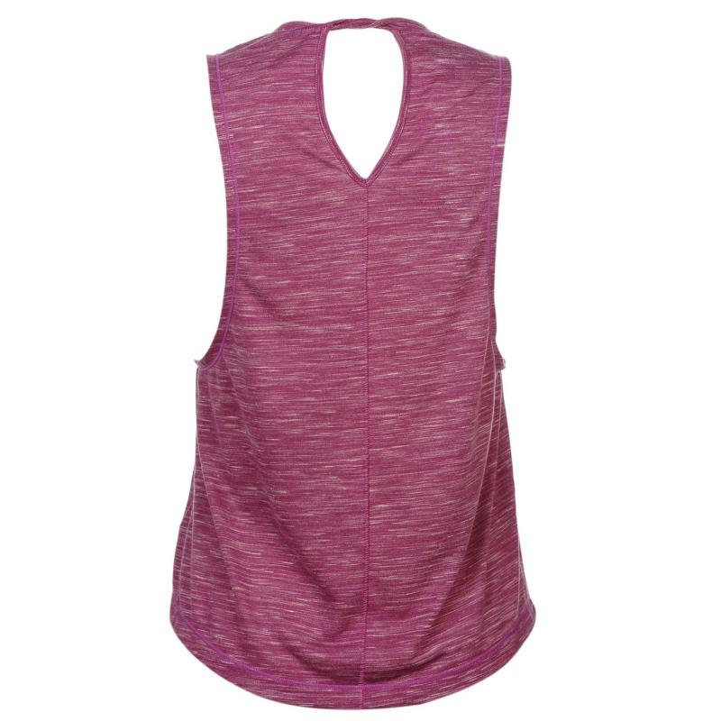 USA Pro Loose Tank Top Ladies PinkClover Marl, Velikost: 8 (XS)