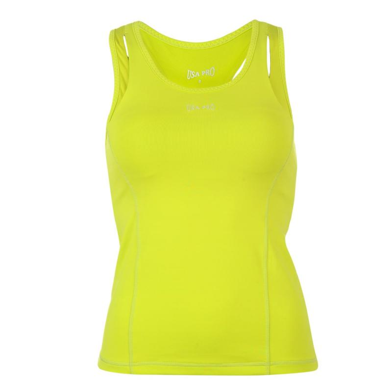 USA Pro Racer Vest Ladies Lime