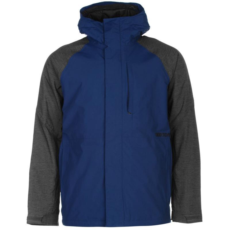 Bunda Burton Hilltop Jacket Mens Blue/Grey, Velikost: S