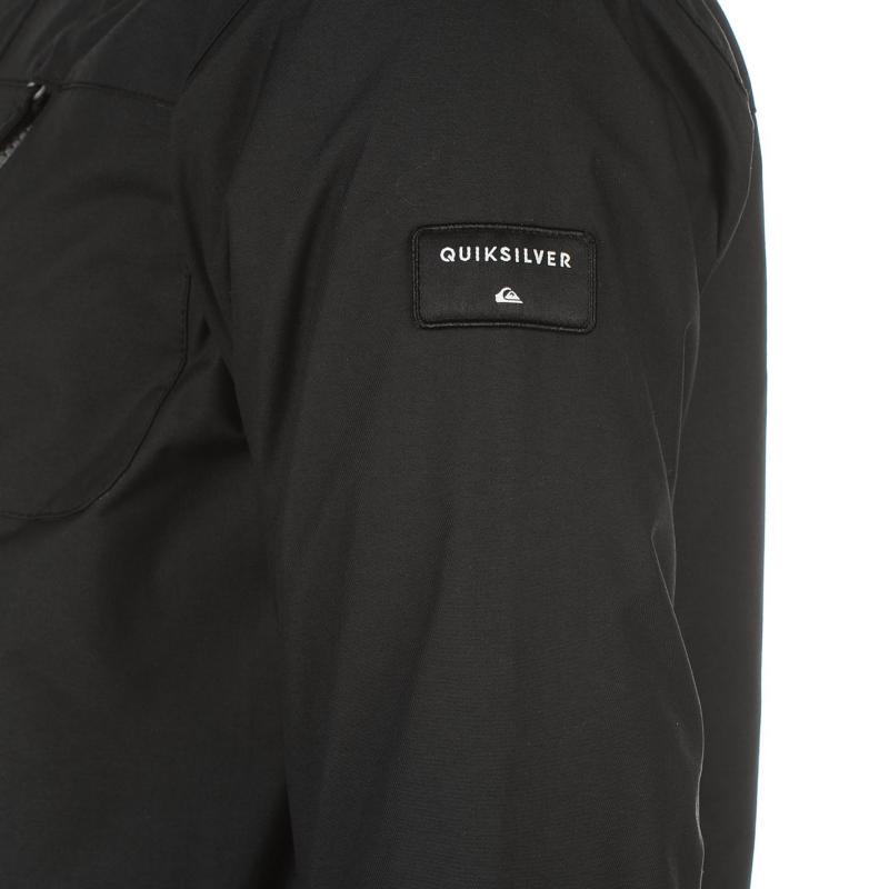 Bunda Quiksilver Mission Snow Jacket Mens Black, Velikost: S