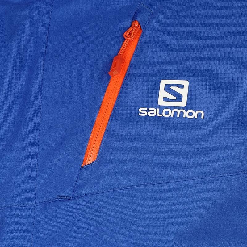 Bunda Salomon Rise Mens Jacket Orange, Velikost: M