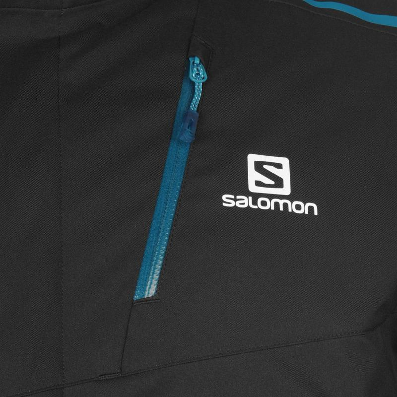 Bunda Salomon Rise Mens Jacket Blue, Velikost: M