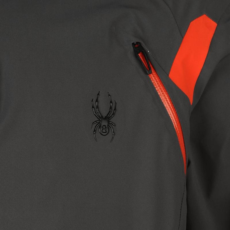Bunda Spyder Garmisch Jacket Mens Grey, Velikost: XL