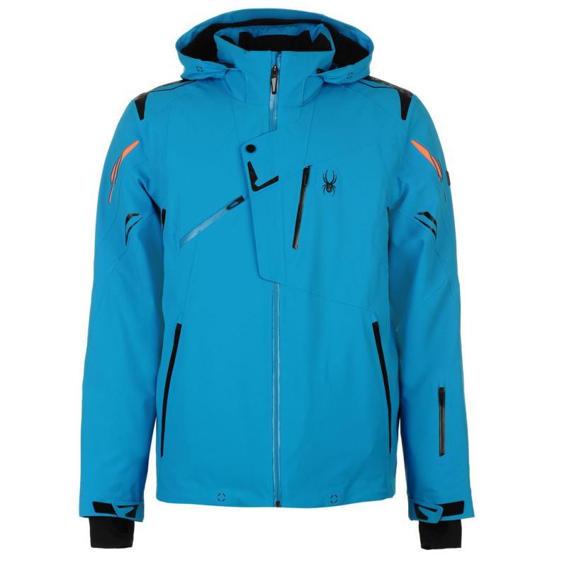 Bunda Spyder Monterosa Mens Ski Jackets Blue, Velikost: S