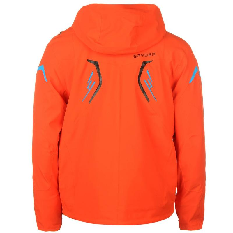 Bunda Spyder Monterosa Ski Jacket Mens Red, Velikost: S