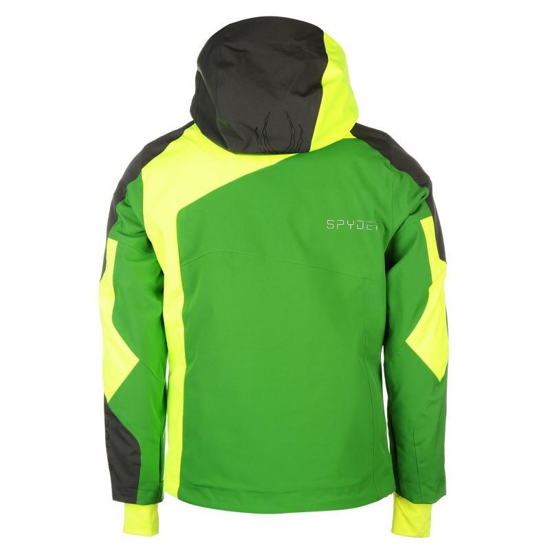 Bunda Spyder Vyper Jacket Mens Green, Velikost: S
