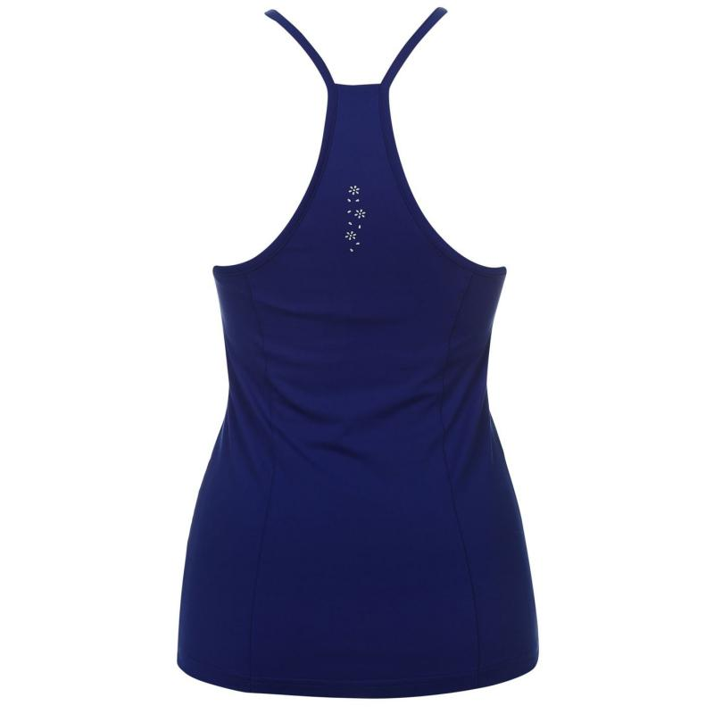 USA Pro Polyester Ladies Tank Top Black, Velikost: 8 (XS)