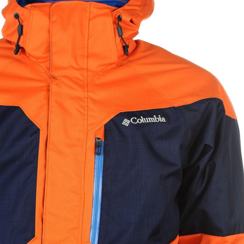 Bunda Columbia Alpine Ski Jacket Mens Orange, Velikost: S
