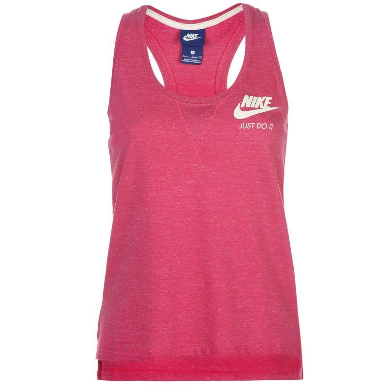 Nike Gym Vintage Tank Top Ladies Blue, Velikost: 12 (M)