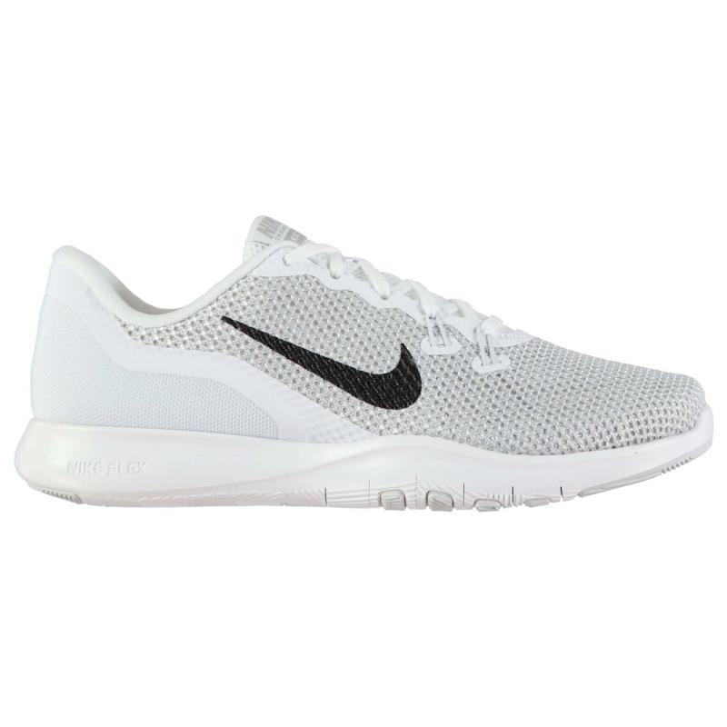 Boty Nike Flex Trainer 7 Ladies Trainers Grey/Pink, Velikost: UK6 (euro 39)