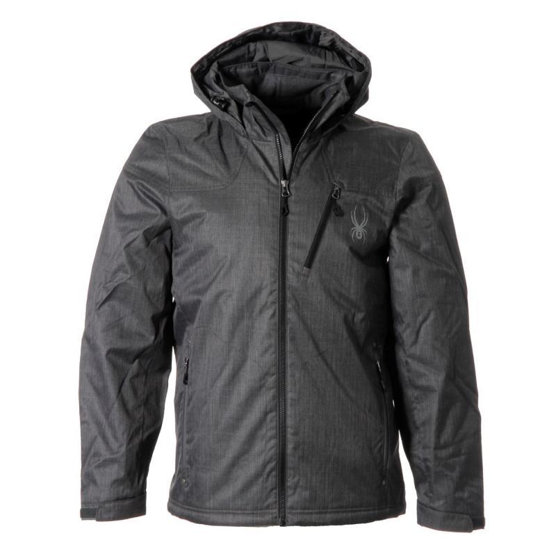 Bunda Spyder Vyrse Jacket Mens Grey, Velikost: S