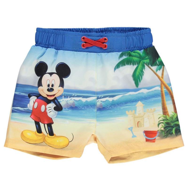 Kraťasy Disney Board Shorts Baby Boys Mickey Mouse