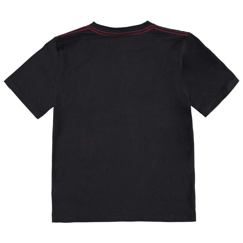 Tričko No Fear Moto Graphic T Shirt Junior Boys Teal Rider
