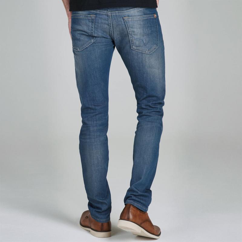 Košile Pepe Jeans Slim Fit Jeans Blue