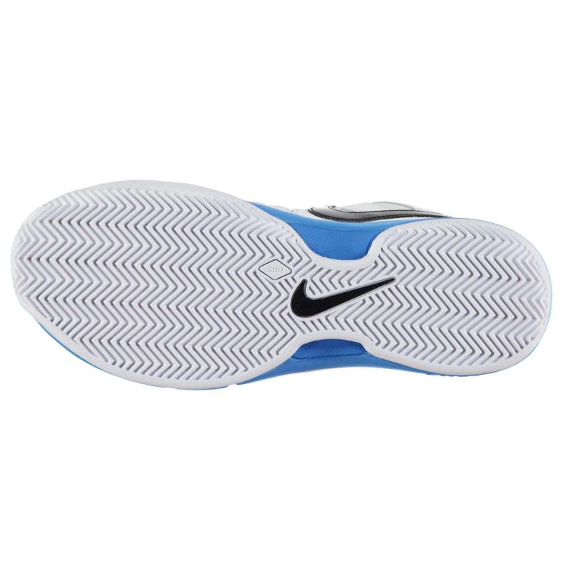 Boty Nike Air Vapor Advantage Mens Clay Court Tennis Shoes White/Blk/Blue, Velikost: UK9 (euro 43)