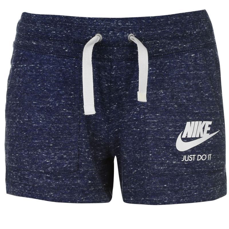 Šortky Nike Gym Vintage Shorts Ladies Blue, Velikost: 12 (M)