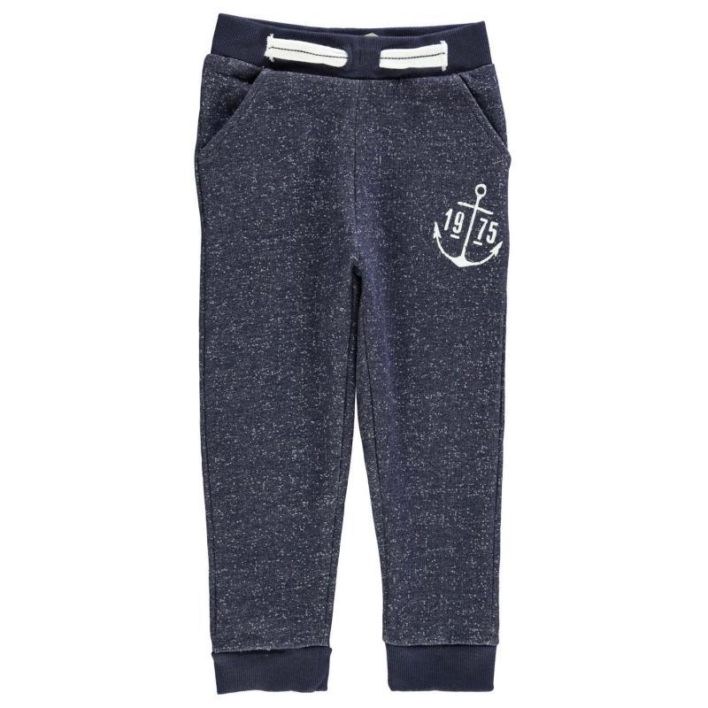 Tepláky Crafted Fashion Joggers Child Boys Navy AB
