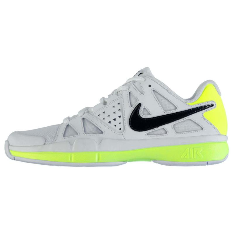 Boty Nike Air Vapor Advantage Mens Tennis Shoes White/Blk/Blue, Velikost: UK9 (euro 43)